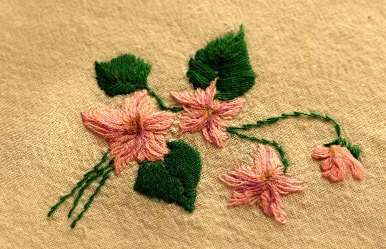 Как сделать красивые салфетки украшенные вышивкой-3-jpg.5482