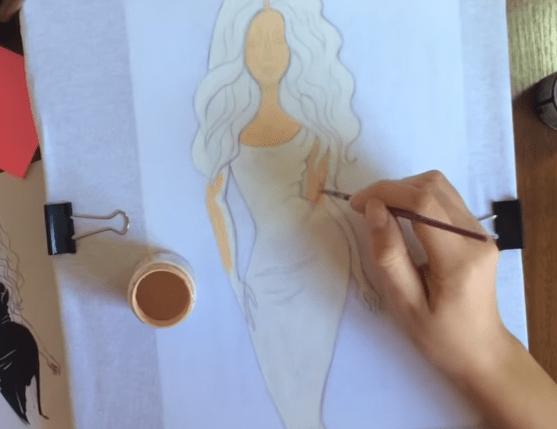 Декорируем одежду акриловыми красками. Рисунок на одежде своими руками-8-png.5630