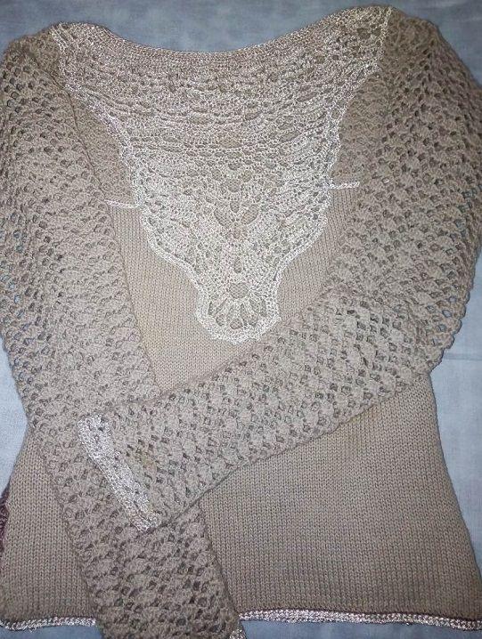 Пуловер с ажурной кокеткой: модное серебро-__viber_2019-11-08_09-53-20-jpg.6009